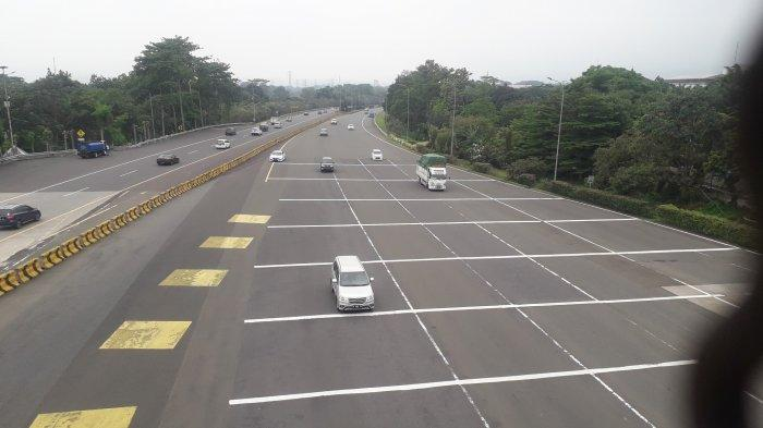 Akhir Pekan, Kendaraan yang Memasuki Kota Bogor via Tol Bogor Ramai Lancar