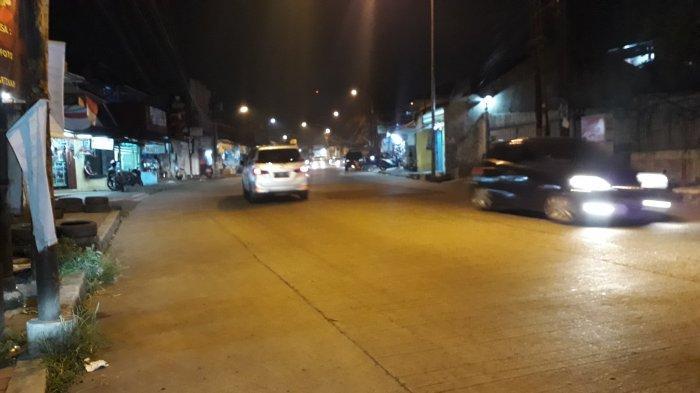 Lalu Lintas Kendaraan di Jalan Kedung Halang Bogor, Malam Ini Ramai Lancar