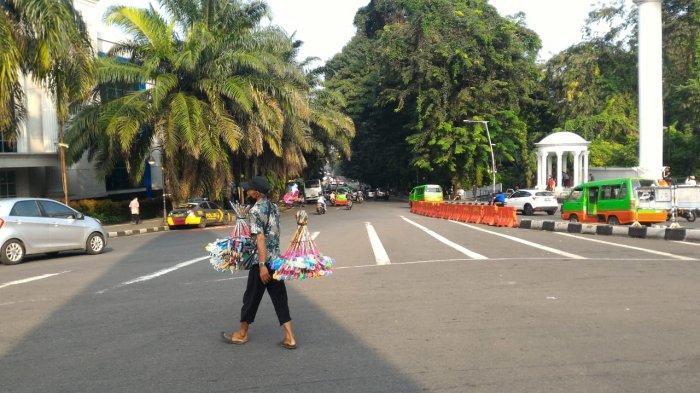 Lalu Lintas Seputar SSA Kota Bogor Pagi Ini Ramai Lancar