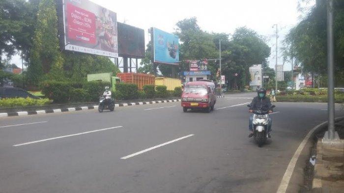 Lalu Lintas Simpang Baranangsiang Kota Bogor saat Ini Lancar