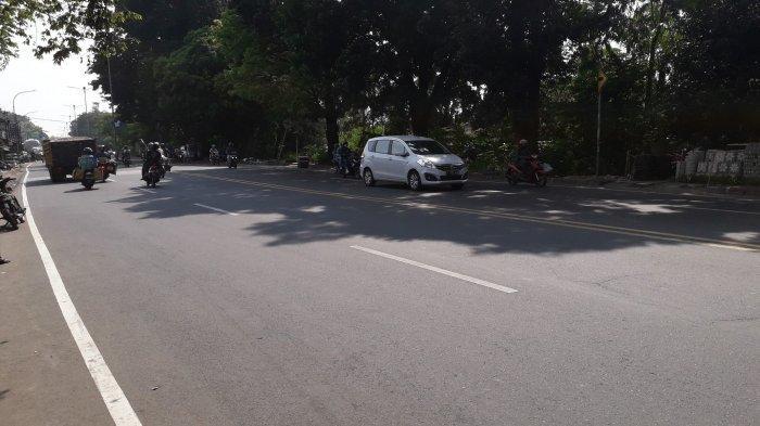 Kondisi Lalu Lintas Jalan Raya Jakarta-Bogor Senin 20 Juli 2020