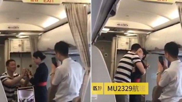 Dilamar Kekasih Saat Penerbangan, Pramugari Ini Kehilangan Pekerjaan