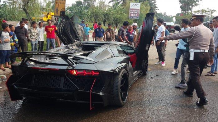 Polisi Belum Pastikan Lamborghini yang Terbakar di Sentul Milik Raffi Ahmad, Ini Penjelasannya