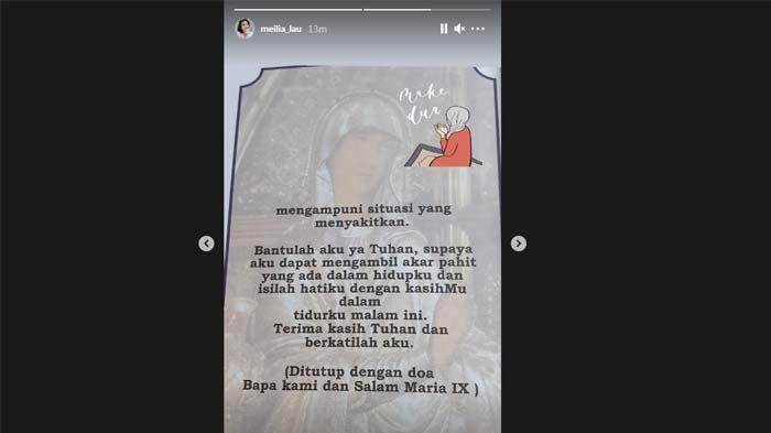 Unggahan Ibunda Felicia Tissue usai Kaesang Pangarep Beri Klarifikasi