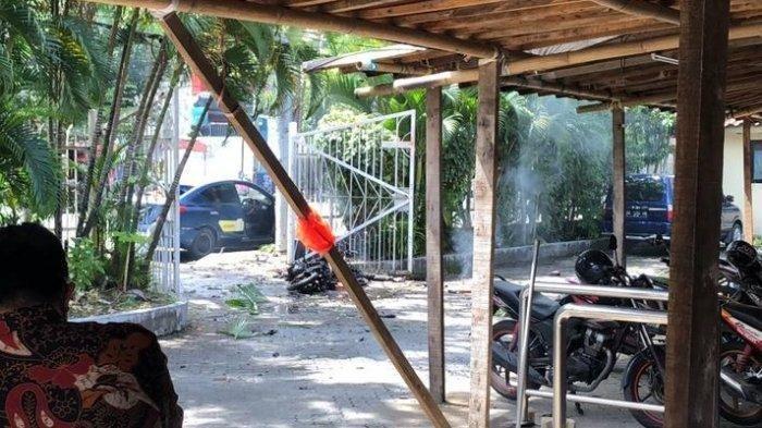 Ledakan Bom Bunuh Diri di <a href='https://jambi.tribunnews.com/tag/makassar' title='Makassar'>Makassar</a>, Pelaku Sempat Berusaha Masuk dalam <a href='https://jambi.tribunnews.com/tag/gereja-katedral' title='GerejaKatedral'>GerejaKatedral</a>