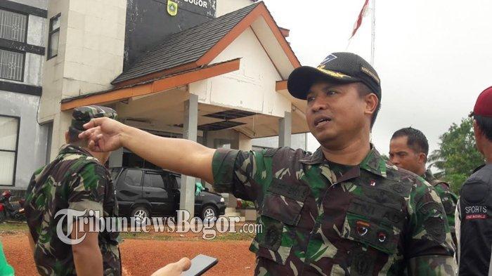 Ketua Tim Tanggap Darurat Bencana Kabupaten Bogor Dipimpin Dandim, Ini Alasannya