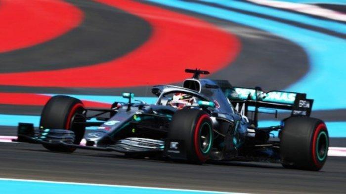 Pembalap F1 Lewis Hamilton Raih Pole Position ke-86 di GP Prancis 2019