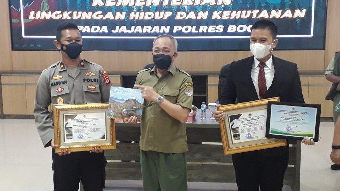 Ungkap Kasus Soal Hutan dan Satwa, Polres Bogor Dapat Penghargaan dari Kementrian LHK