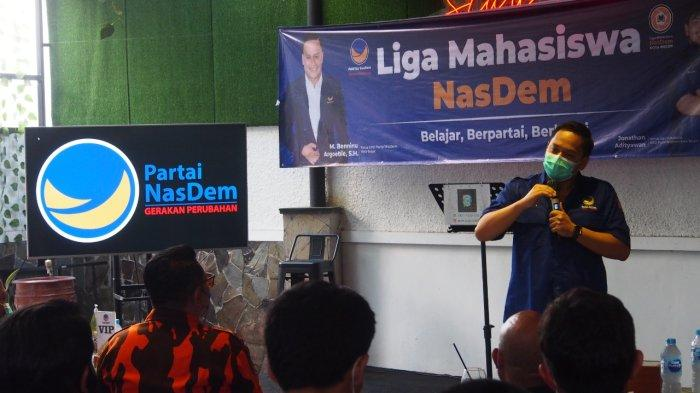 Gandeng Generasi Muda, DPD Partai NasDem Kota Bogor Lantik Liga Mahasiswa