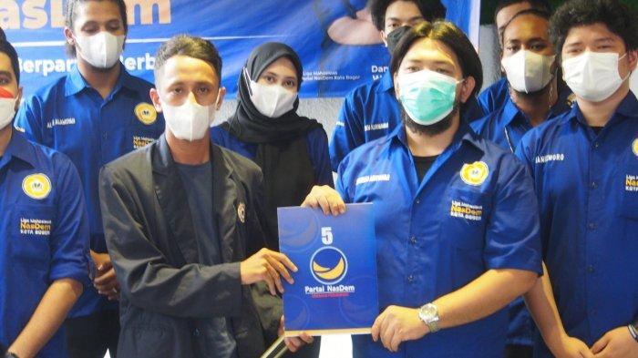 Menggaet Generasi Z, DPD Partai NasDem Kota Bogor Melantik Liga Mahasiswa,  Sabtu (25/9/2021) sore