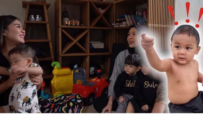 Lihat Anaknya Dekati Putri Syahnaz Sadiqah, Mantan Raffi Ahmad Berseloroh : Udah Ditag Kiano Tuh