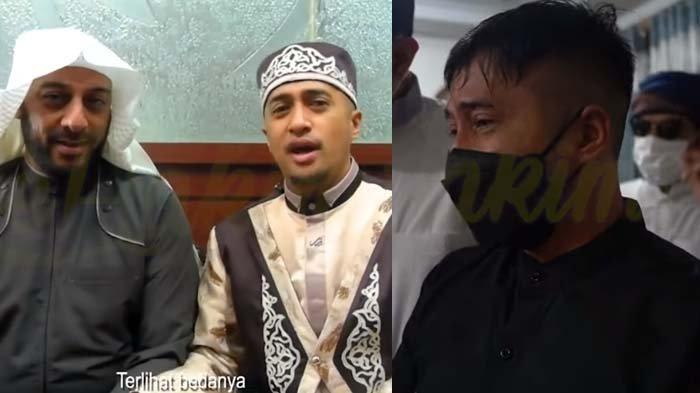 Lihat Wajah Syekh Ali Jaber untuk Terakhir Kali, Tangis Irfan Hakim Pecah: MasyaAllah Senyum Khasnya
