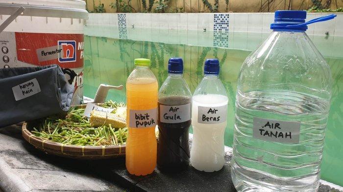 Dosen IPB Ajarkan Masyarakat Pemanfaatan Libah Dapur Hingga Menjadi Pupuk Cair