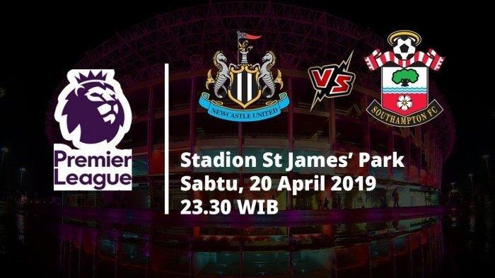 Link Live Streaming Newcastle United Vs Southampton MNC TV Liga Inggris, Pukul 23.30 WIB