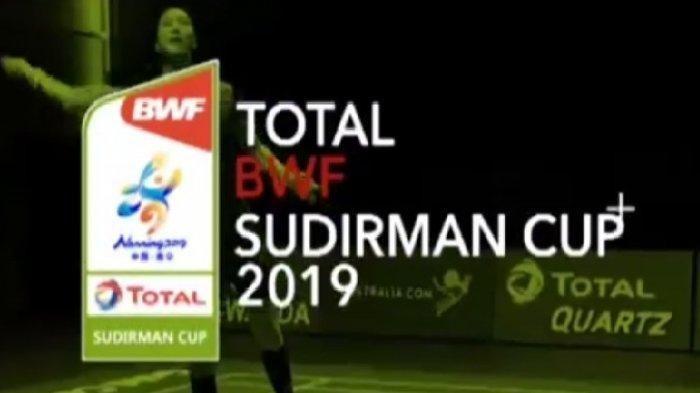 Live Streaming Piala Sudirman 2019 Indonesia Vs Inggris - Jadwal dan Ulasan Pertandingannya