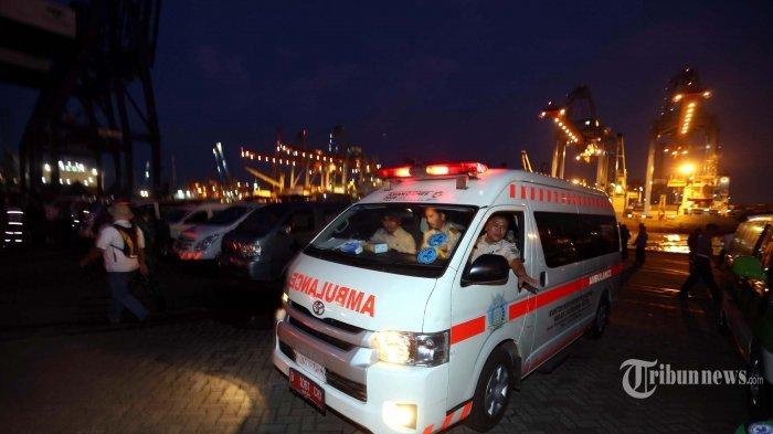 Viral Peti Jenazah Pasien Covid-19 Keluar dari Mobil Ambulans, Sopir Panik Lakukan Ini