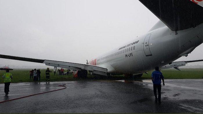 Video Detik-Detik Usai Lion Air Tergelincir di Pontianak, Begini Suasana Penumpang Saat Dievakuasi