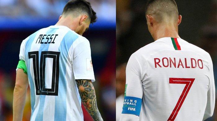 Hasil Piala Dunia 2018 - Ronaldo Susul Messi Pulang Kampung