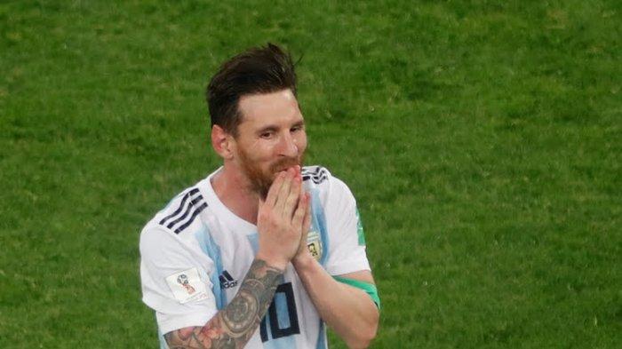 Sang Istri Komentari Curhatan Lionel Messi Usai Jebol Gawang Nigeria