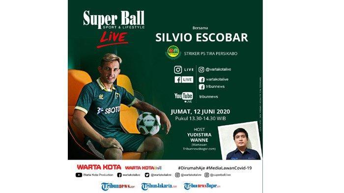 Ini Klub dan Pemain Bola yang Difavoritkan Silvio Escobar