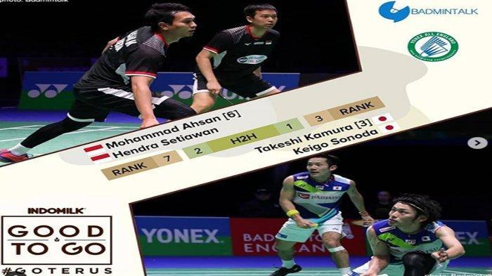 Link Live Streaming Semifinal All England Open 2019 - Ganda Putra Berpeluang All Indonesian di Final