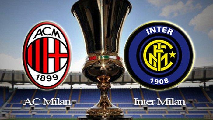 Link Live Streaming Inter Milan Vs AC Milan, Kick Off Pukul 23.00 WIB