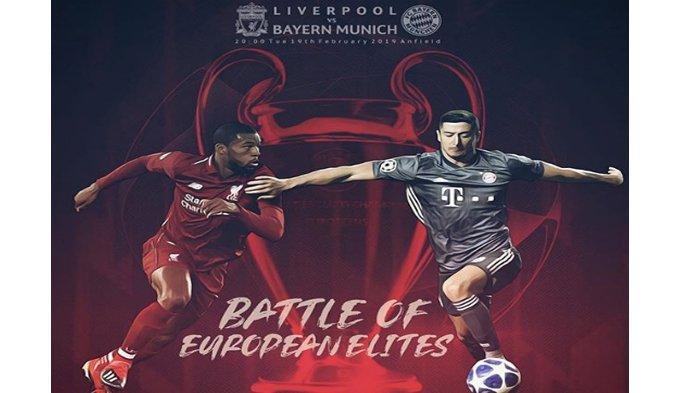 Live Streaming Liga Champions Liverpool Vs Bayern Munchen di RCTI Pukul 03.00 WIB