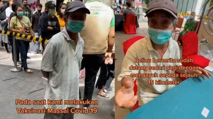 Terharu Dengar Perjuangan Kakek Safarudin Kayuh Sepeda Demi Vaksin, Ivan Gunawan Beri Hadiah Motor