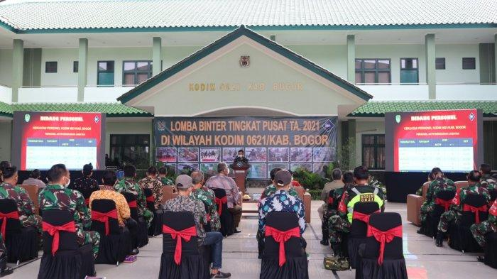 Lomba Binter 2021, Masyarakat Industri Kecil di Kabupaten Bogor Dibina TNI