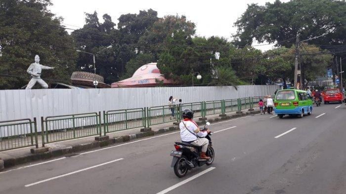 Corona Merebak, Pembangunan Alun-alun Bogor Dihentikan Sementara