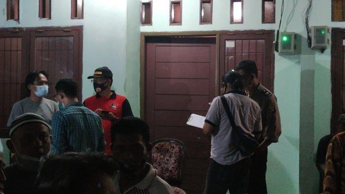 Lokasi kontrakan penemuan diduga tulang belulang manusia, Sawangan,Depok, Rabu (18/11/2020).