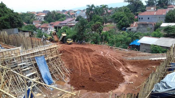 Ketua Komisi C DPRD Bogor Sidak Pembangunan Rumah Sakit di Tengah Permukiman
