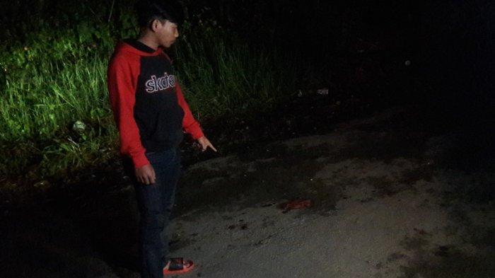 Pasangan Paruh Baya Bersimbah Darah di Jalan, Diduga Berkelahi Karena Masalah Uang Rp 2 Juta