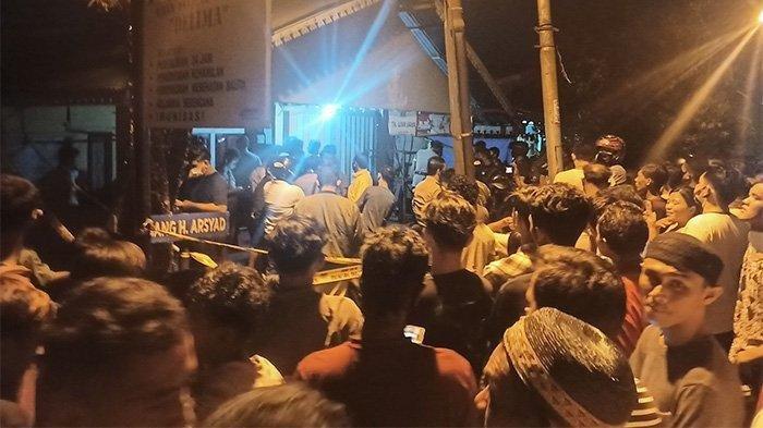 Lokasi rumah korban dugaan pembunuhan yang berada di Kelurahan Banjar Serasan, Kecamatan Pontianak Timur, Kalimantan Barat, Rabu (23/9/2020) malam sekira pukul 22:00 WIB.