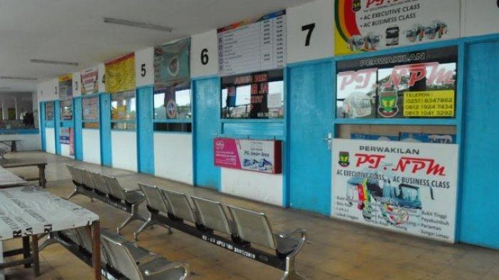 Mudik Dilarang, Terminal Baranangsiang Bogor Sepi Jelang Lebaran 2021