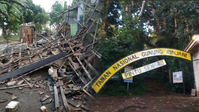 Cerita Warga Gempa 6,4 SR di Lombok, 'Suami Saya Pikir, Saya Goyangin Kasurnya Biar Dia Bangun'