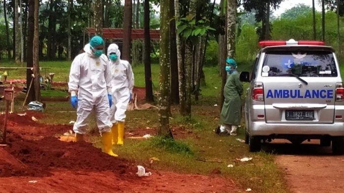 Pemakaman TPU Cipenjo Cileungsi Bogor Meningkat, Sehari Lima Jenazah Pasien Covid-19 Dikuburkan