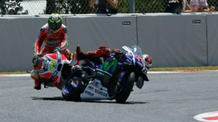 Ini 3 Momen Maut Tikungan Terakhir Sirkuit Jerez yang 'Mematikan' Pembalap Tiba di Garis Finish
