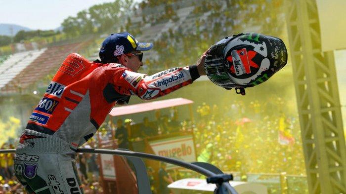 Hasil MotoGP Italia 2018, Marc Marquez Jatuh, Jorge Lorenzo Raih Kemenangan Di Mugello