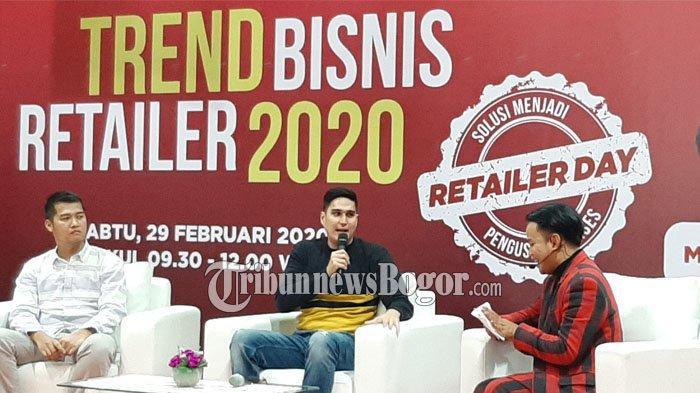 Jadi Pembicara di Acara Trend Bisnis Retailer 2020, Marcel Chandrawinata Bahas Trik Jualan Online