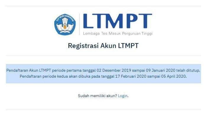 Cara Daftar UTBK SBMPTN 2020 - Besok Pendaftaran Terakhir !