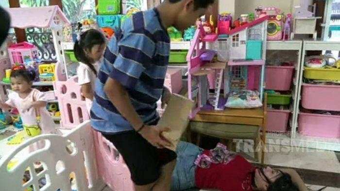 Lucinta Luna Pingsan Gara-gara Aksi Jahil Betrand Peto, Ruben Onsu Marahi Anak: Gak Boleh Kayak Gitu