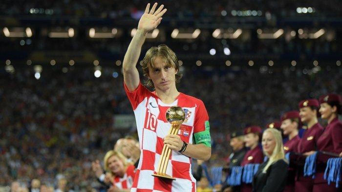 Pemain Terbaik Dunia 2018, Luka Modric jadi Favorit