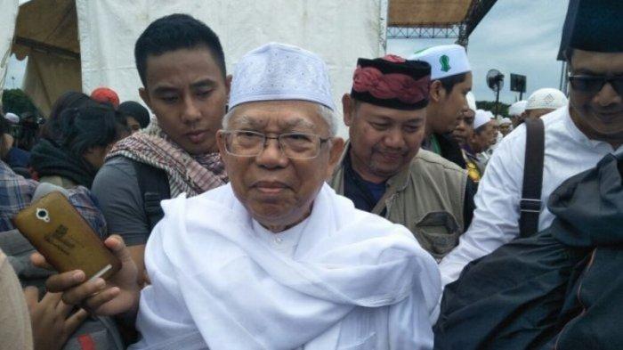 Ma'ruf Amin Siap Bertemu dengan Pendukung Ahok