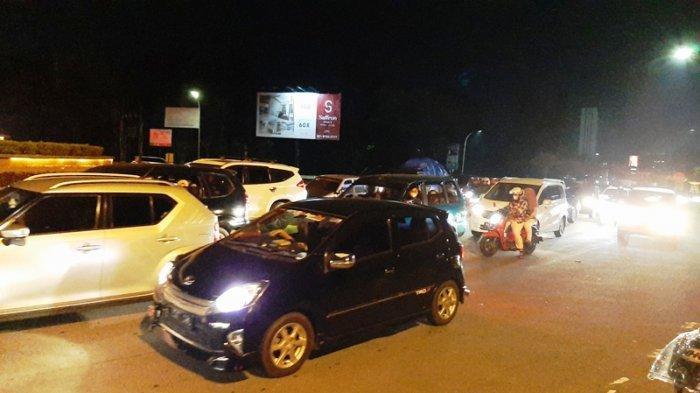 Situasi Terkini Jelang Pintu Tol Sentul Selatan Bogor
