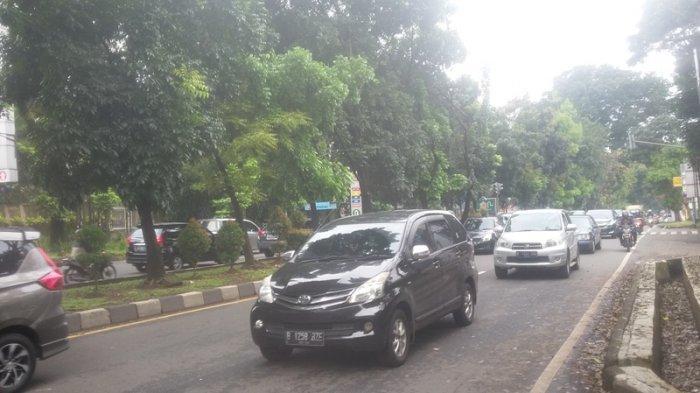Imbas Libur Panjang, Jalan di Pusat Kota Bogor Macet Panjang