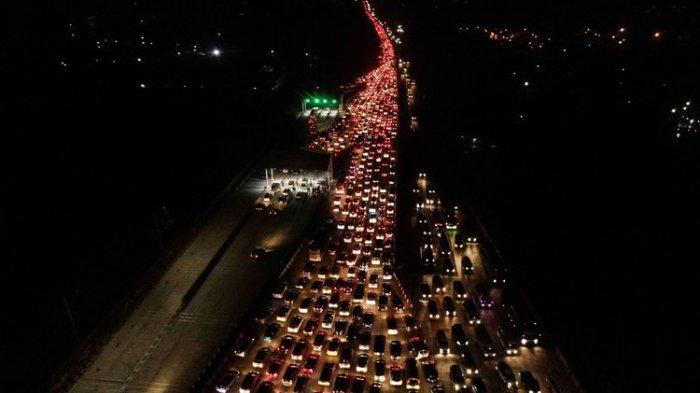 Jelang Idul Fitri, 553.116 Kendaraan Tinggalkan Jakarta