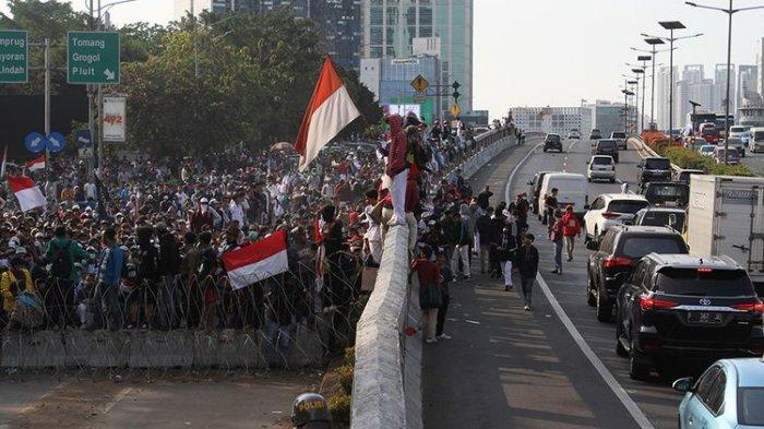 Mahasiswa Desak Presiden Jokowi Batalkan UU KPK Hasil Revisi