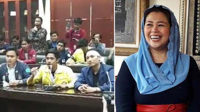 Ketua BEM UI Lantang Sebut Dewan Pengkhianat Rakyat, Yenny Wahid: Hidup Mahasiswa!