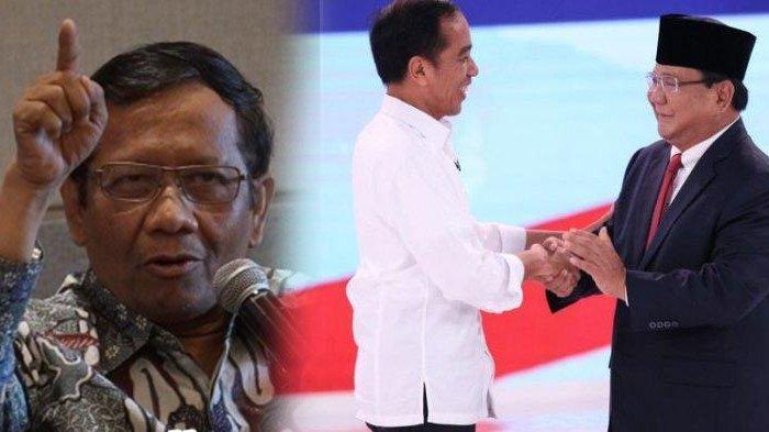 Kata Mahfud MD Soal Klaim Kemenangan Prabowo : Harus Kita Hormati, Tapi Belum Ada yang Sah Menang